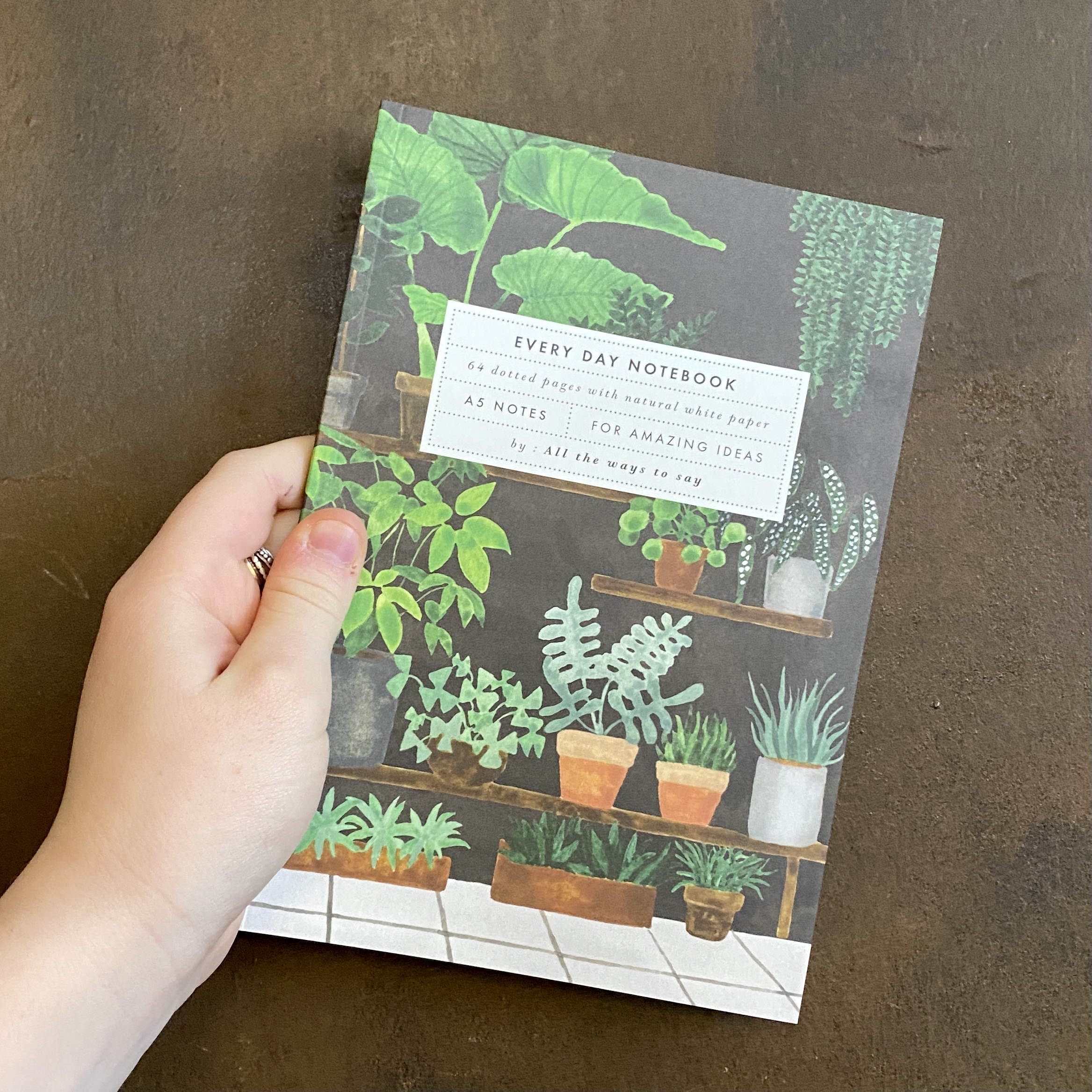 Plant Shop Notebook