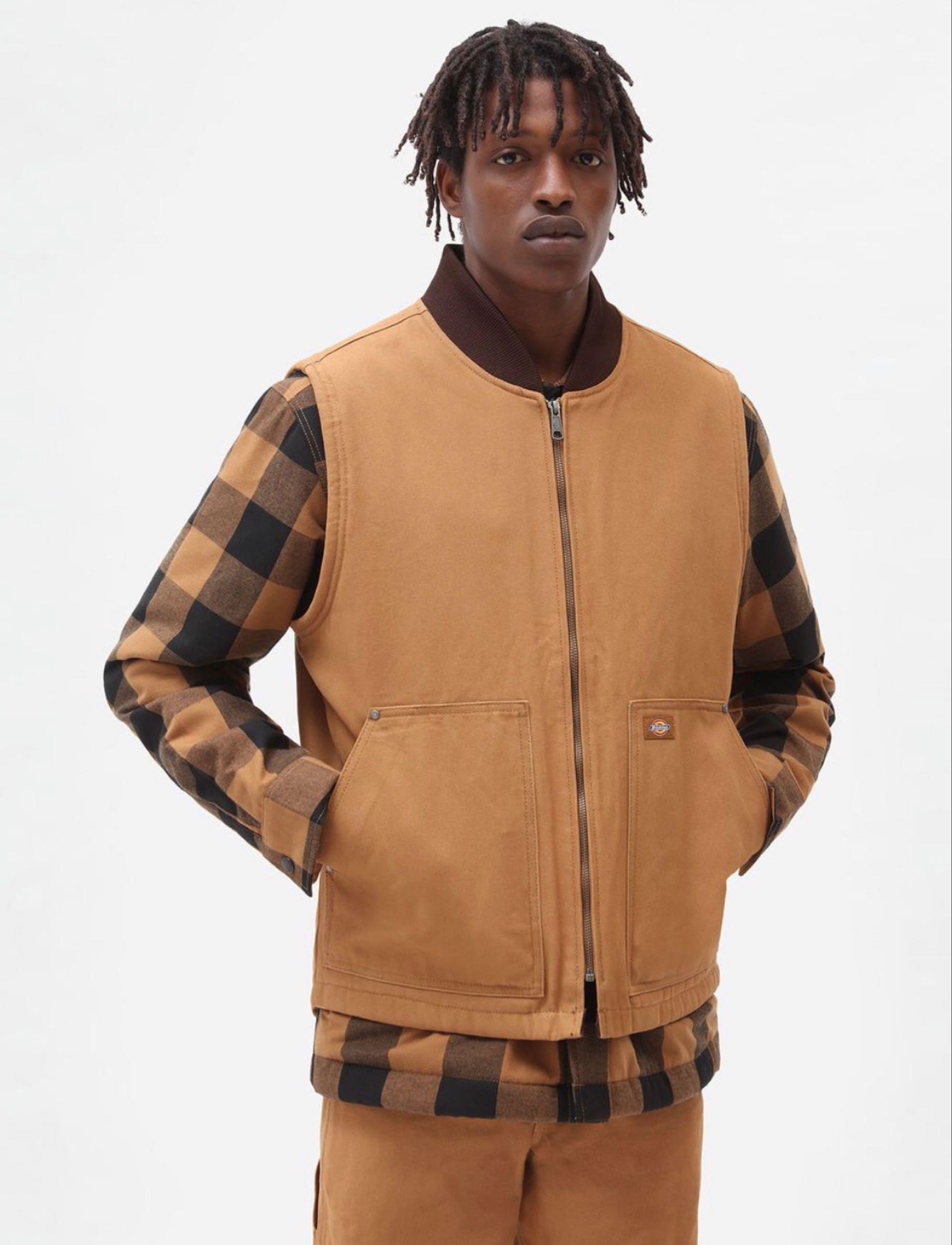 Dickies Canvas Brown Duck Vest