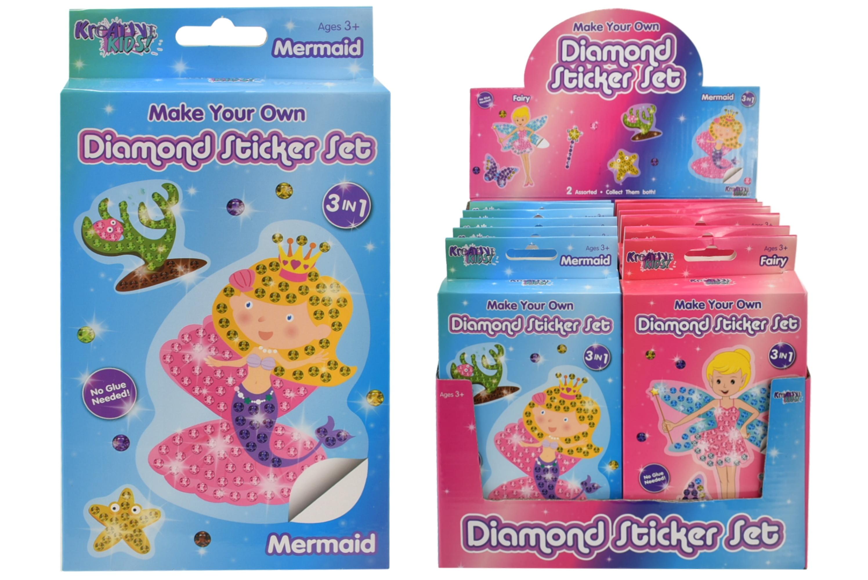Diamond Sticker Set (3in1)