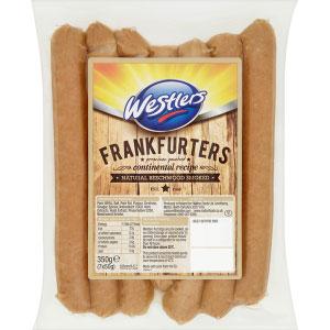 Westlers Frankfurters - Beechwood Smoked - Pack of 7