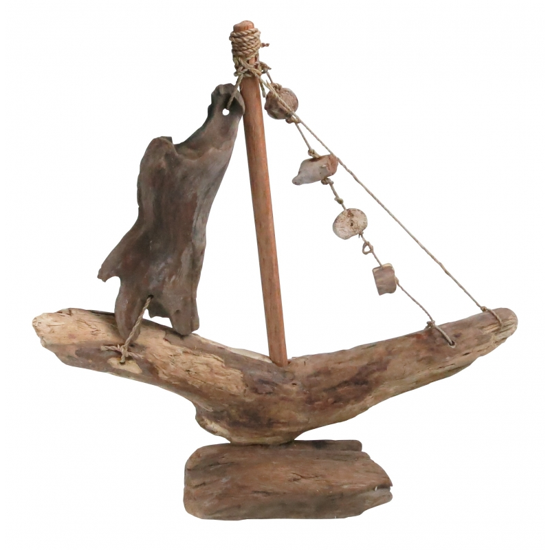 Driftwood Boat Small