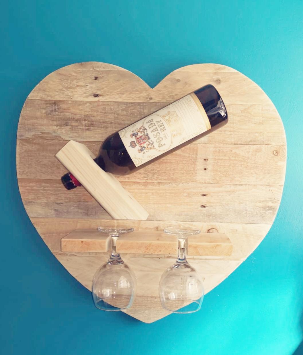 Wine Rack and Glasses Holder