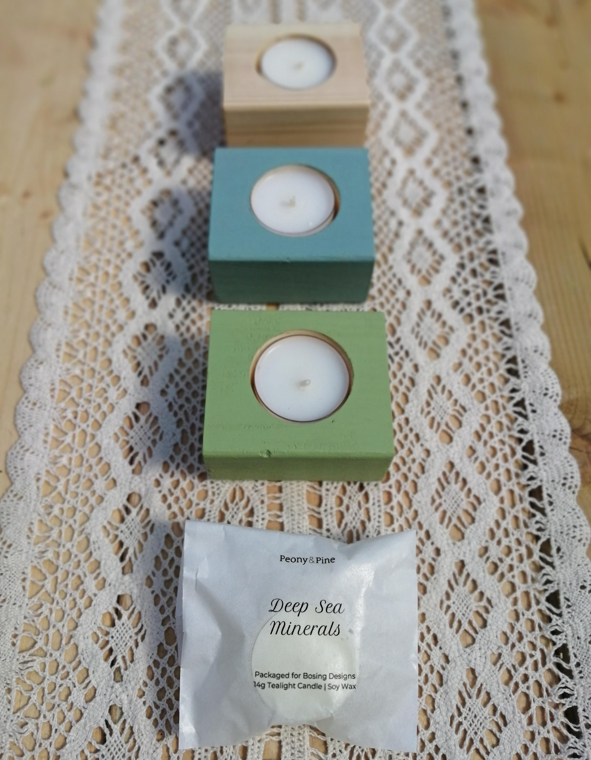 Gift box - Tea Light Holders and Tea Lights