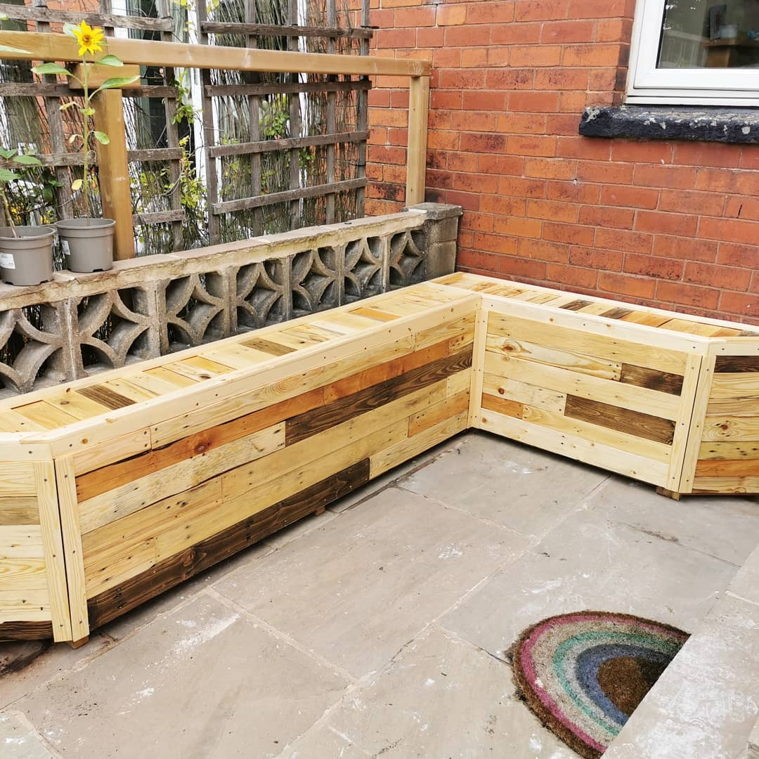 Garden Feature / Bench project