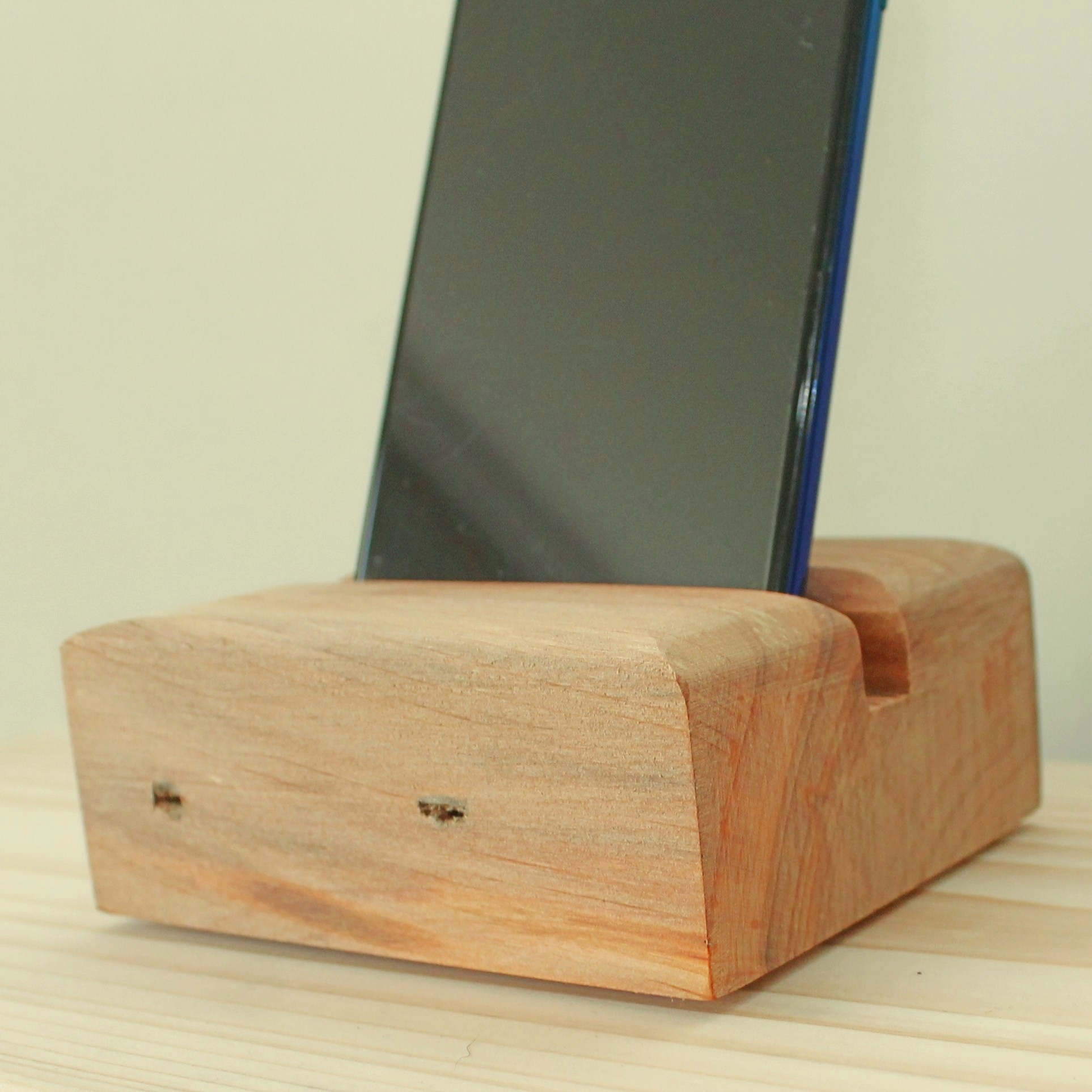 Personalised Chunky Phone Holder