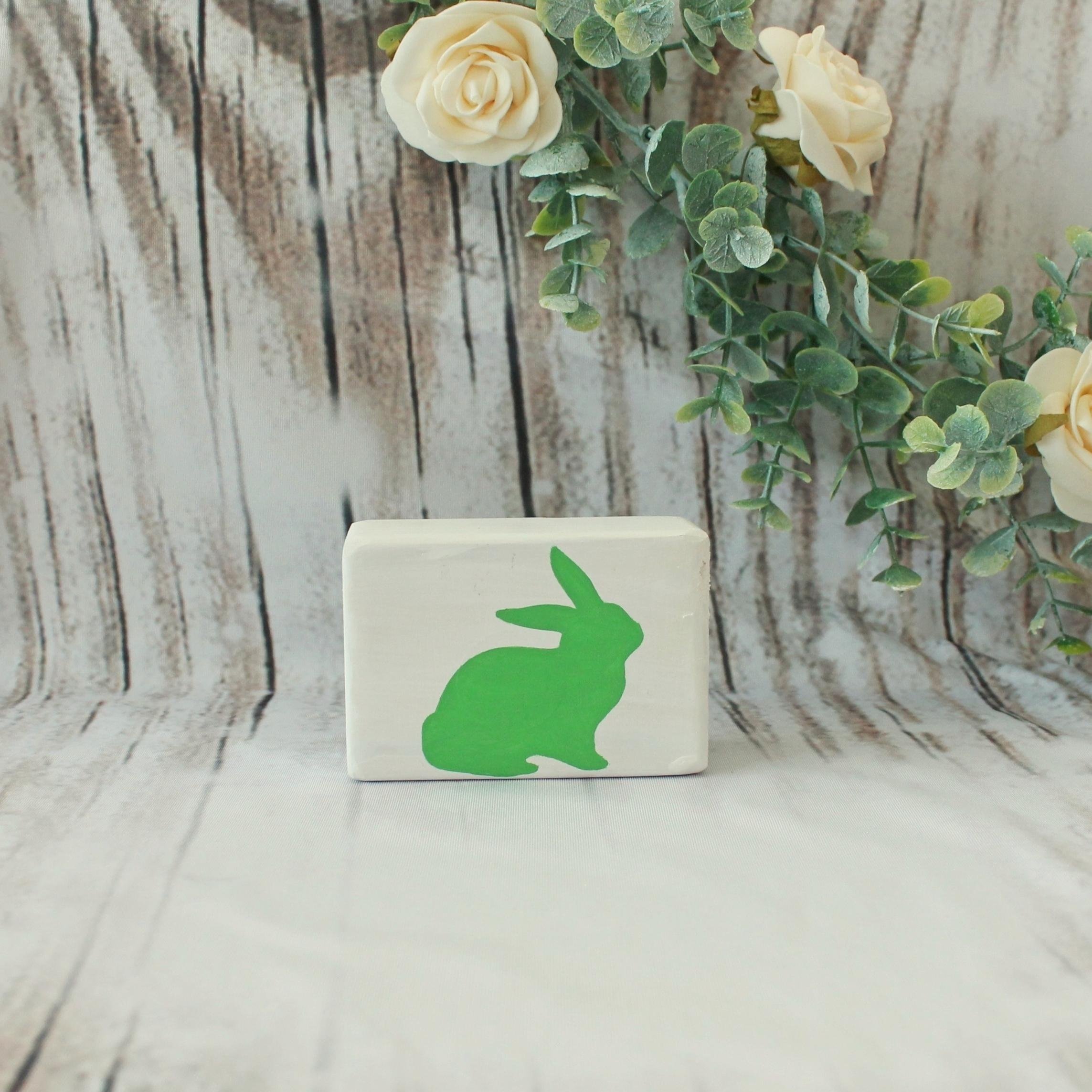 Small Bunny Block