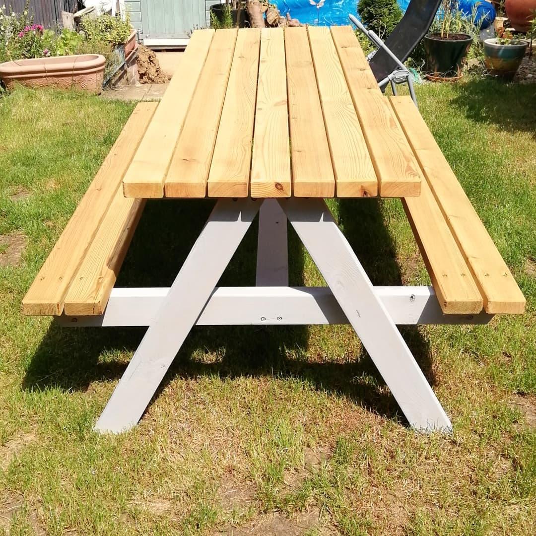 Ultra Heavy Duty Picnic Bench Table