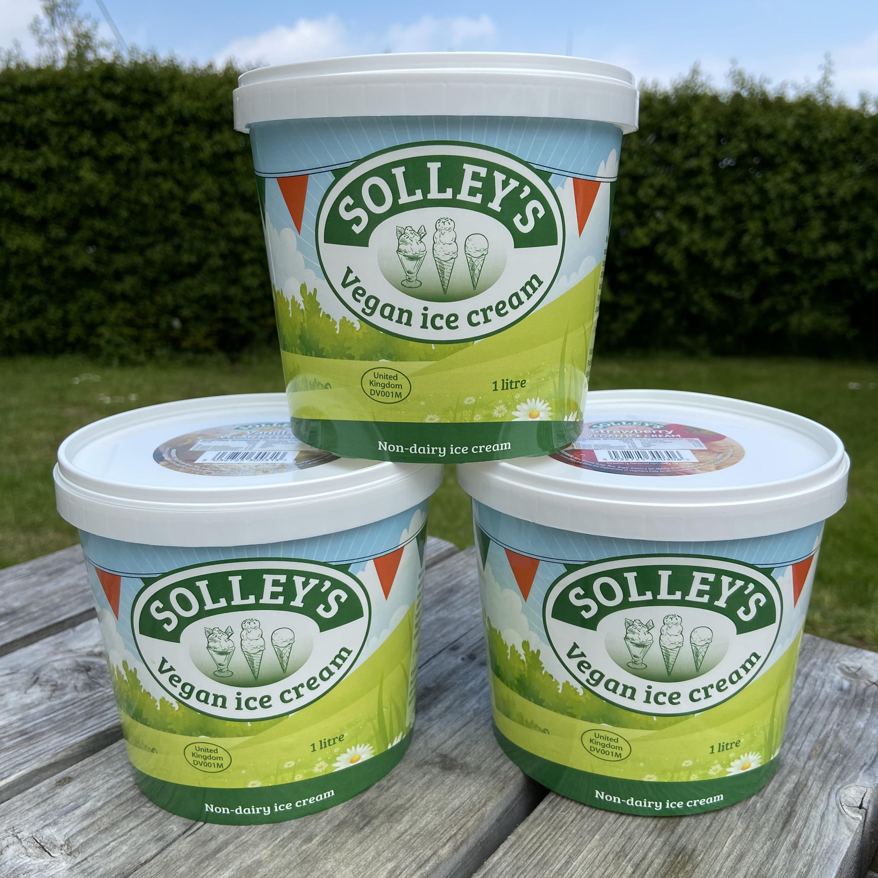 Vanilla VEGAN Ice Cream
