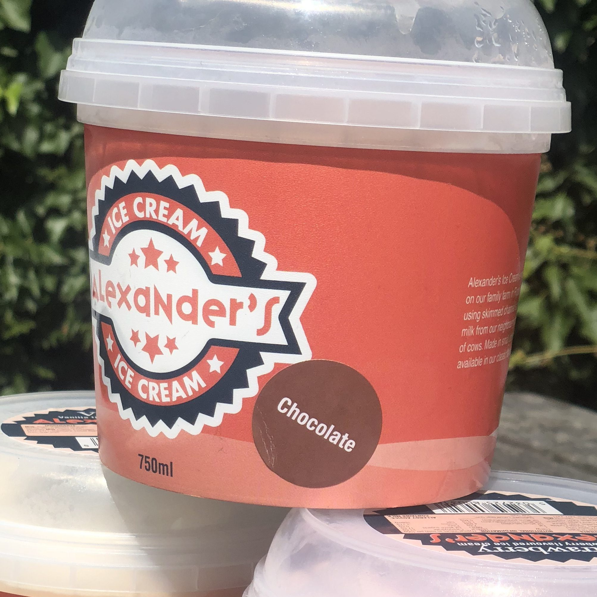 Alexander's Lower Fat Chocolate Ice Cream 🍫