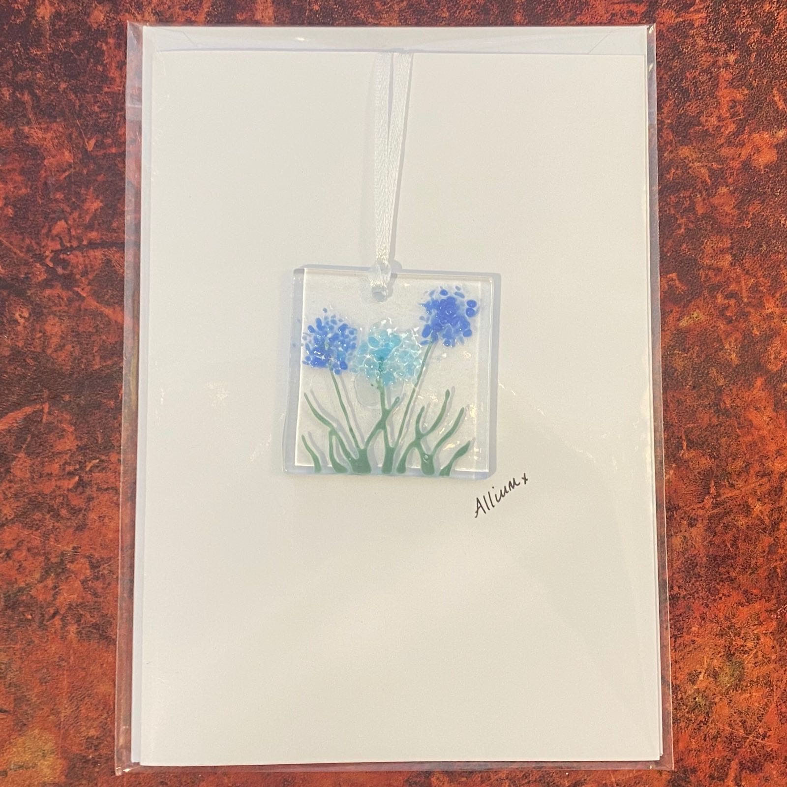 Allium Keepsake Card