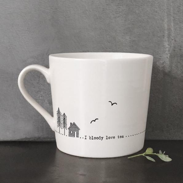 East Of India, Wobbly Porcelain Mugs