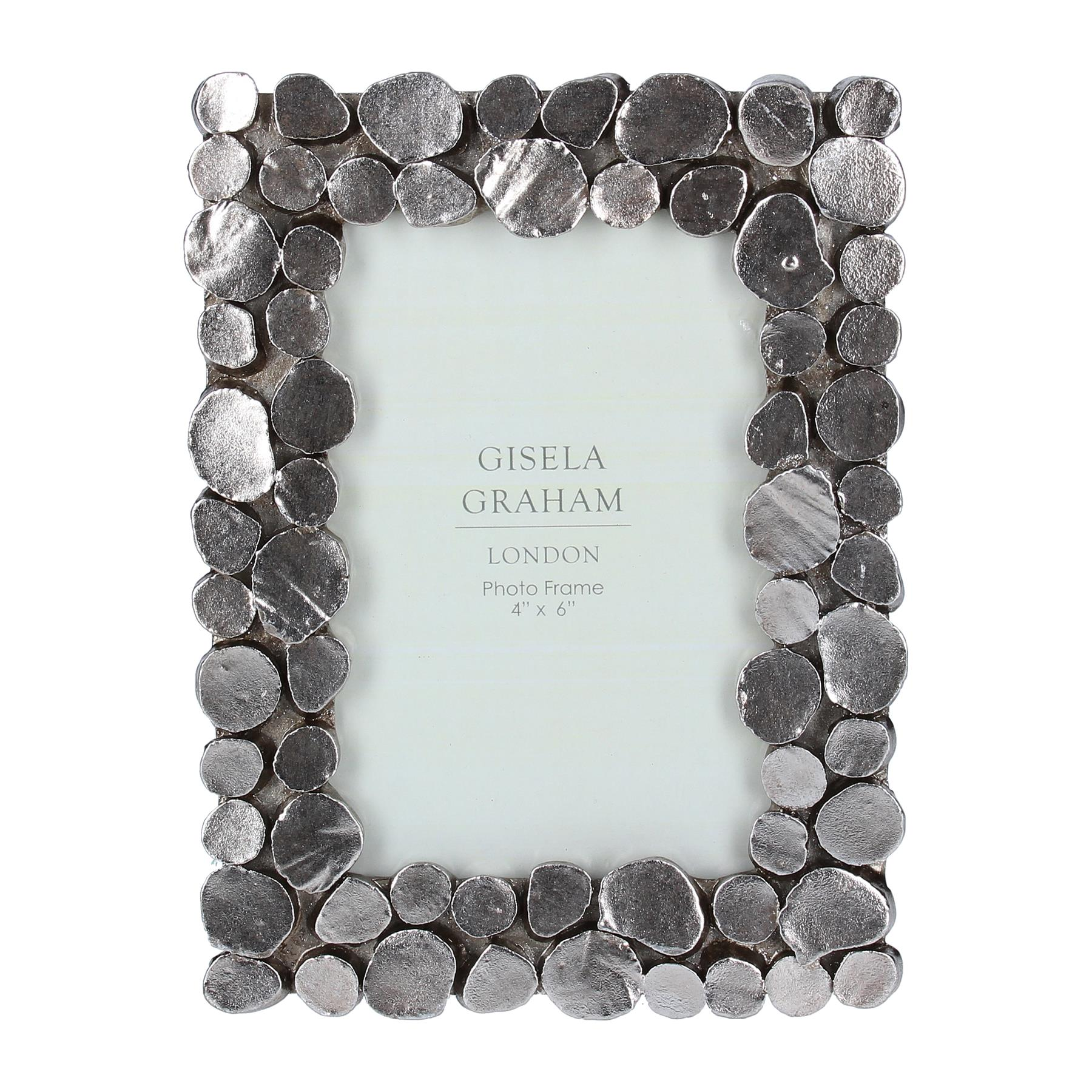 Pewter Pebble Picture Frames
