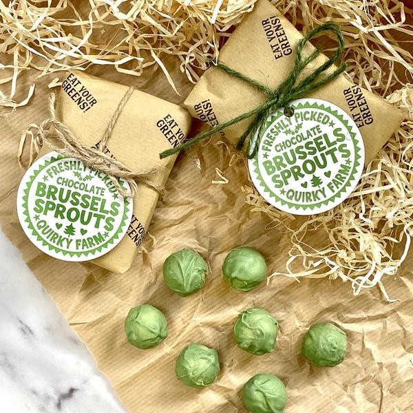 Stocking Filler Chocolate Brussels Sprouts