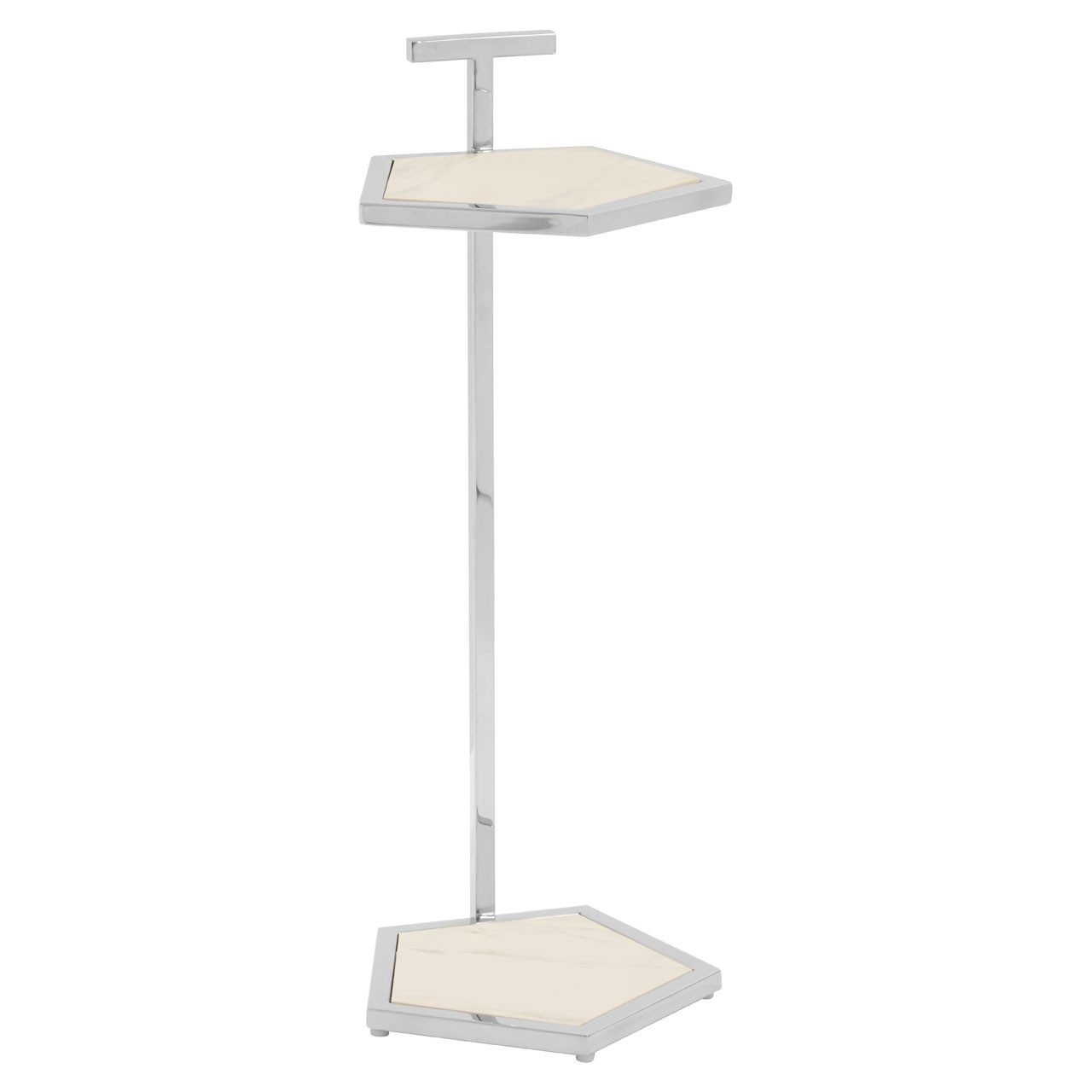 Piermount End Table With Pentagonal Top