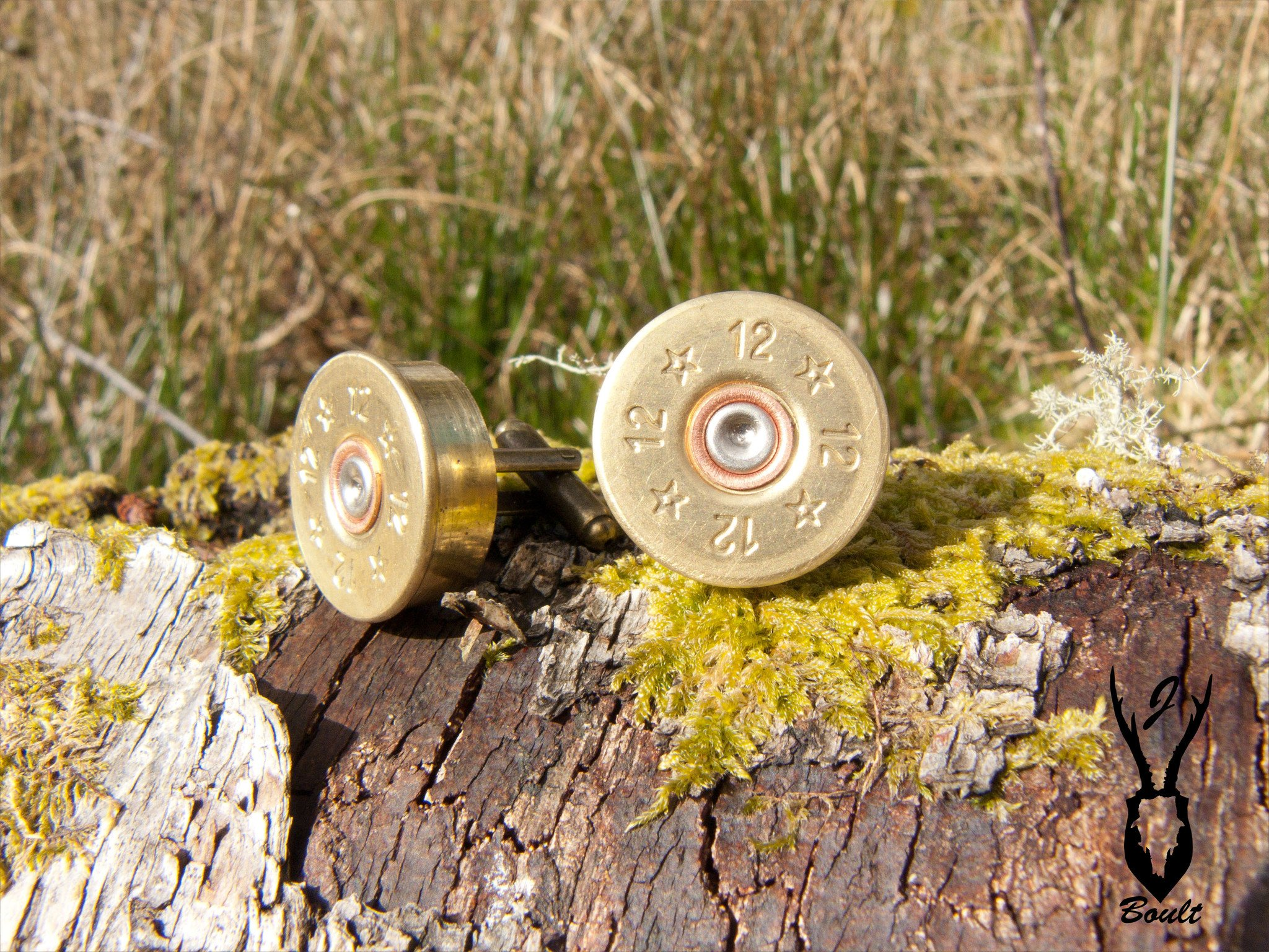 J. Boult Designs - Shotgun Cartridge Cufflinks, 12 bore