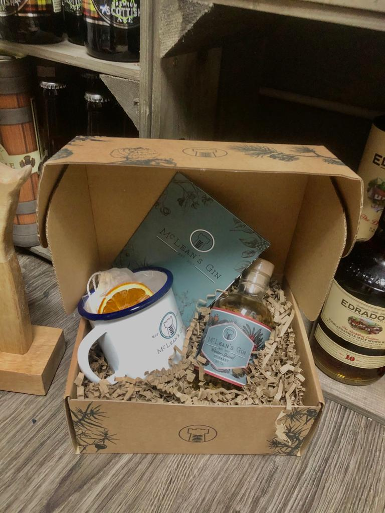 McLean's Hot Gin Punch Gift Set