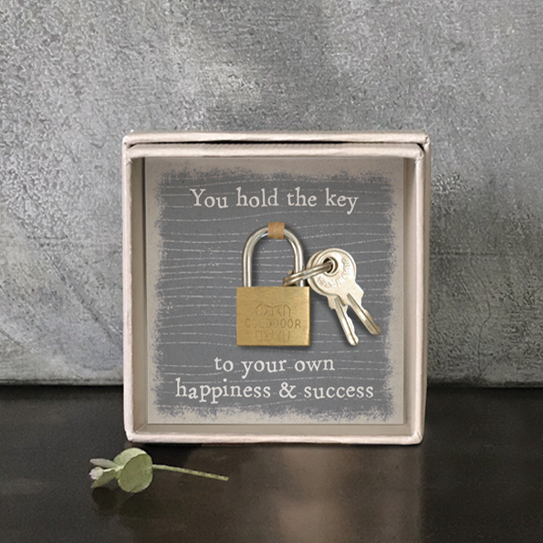 East of India, Padlock - Key to happiness