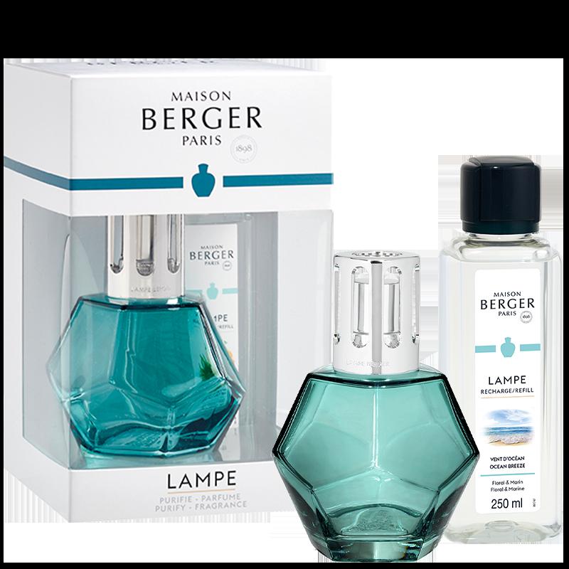 Maison Berger Geometry Lamp Gift Pack, Blue