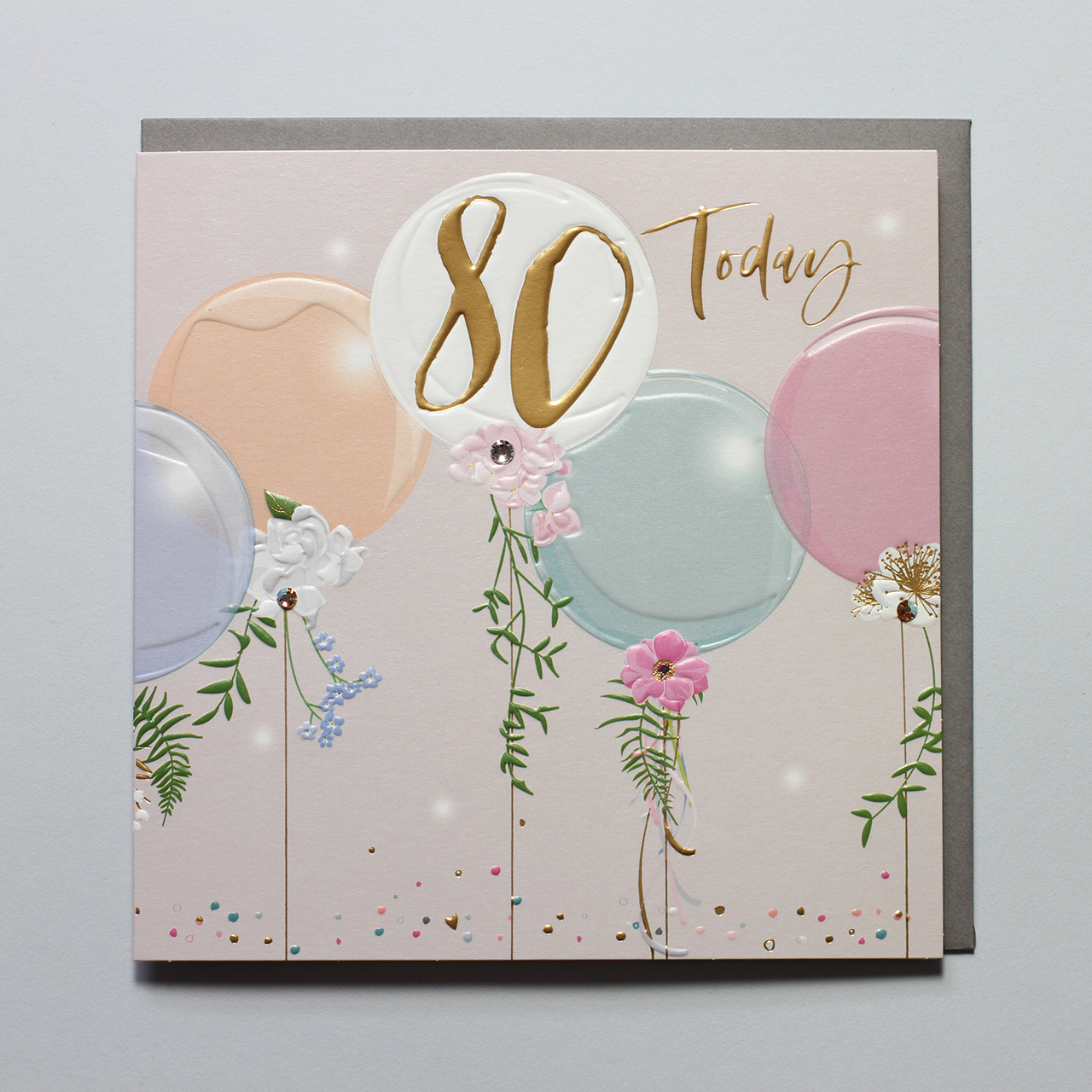 Belly Button Designs 80th Birthday Balloons