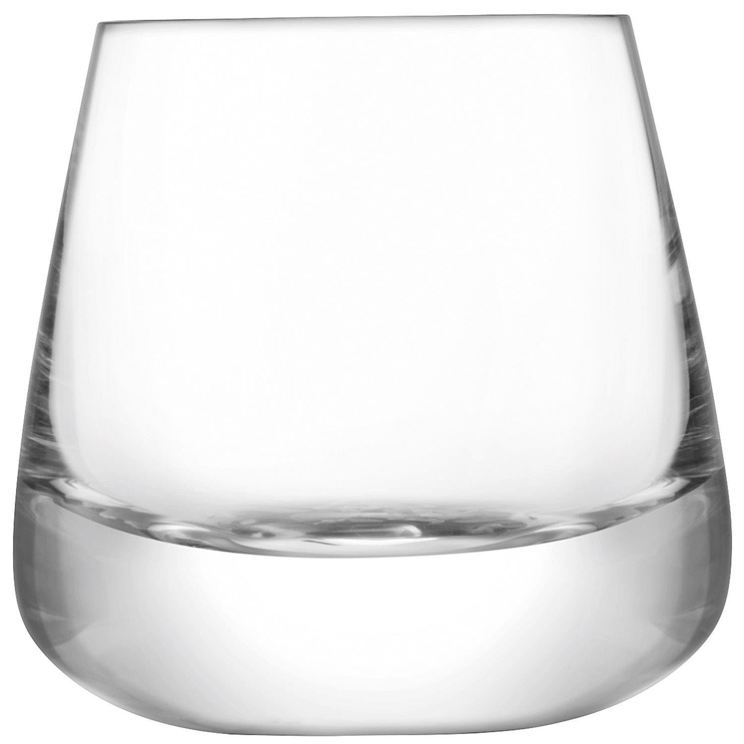 LSA Gift Collection Clear Glass Whisky Decanter & 2 Glasses