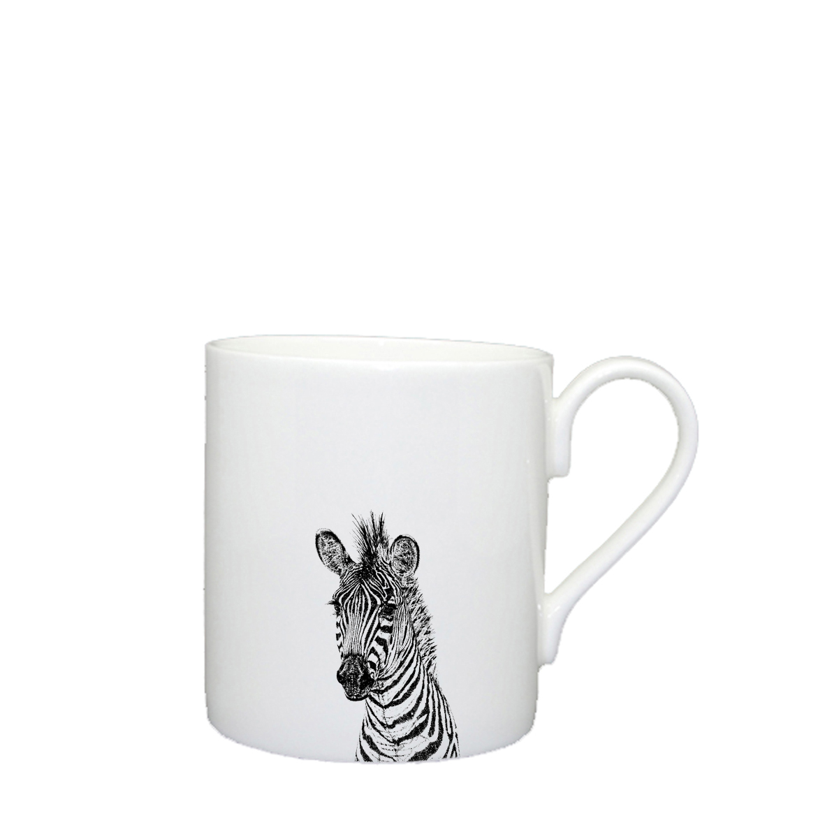 Little Weavers Arts, Zebra, Large Mug