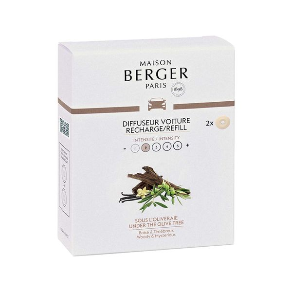 Maison Berger Under the Olive Tree Car Diffuser Refill