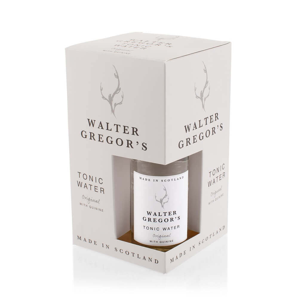 Walter Gregor's Original Tonic Water - (4 Bottle Pack)