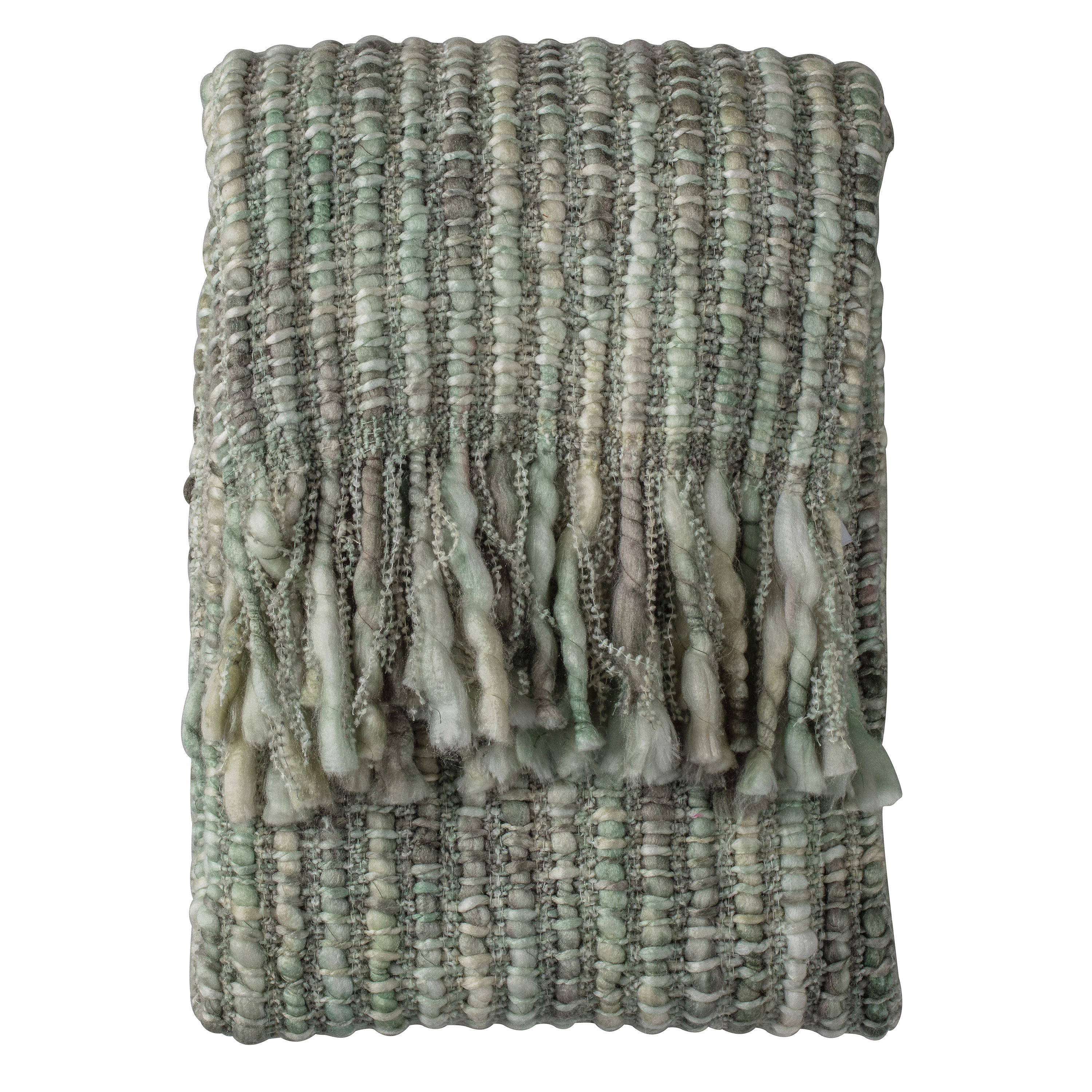 Noella Space Dyed Throw, Sage