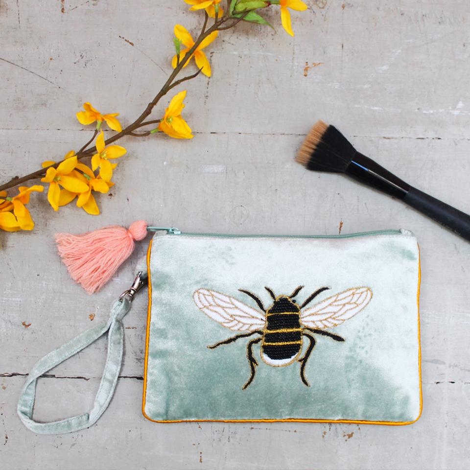 Eden Pouch With Bee Design