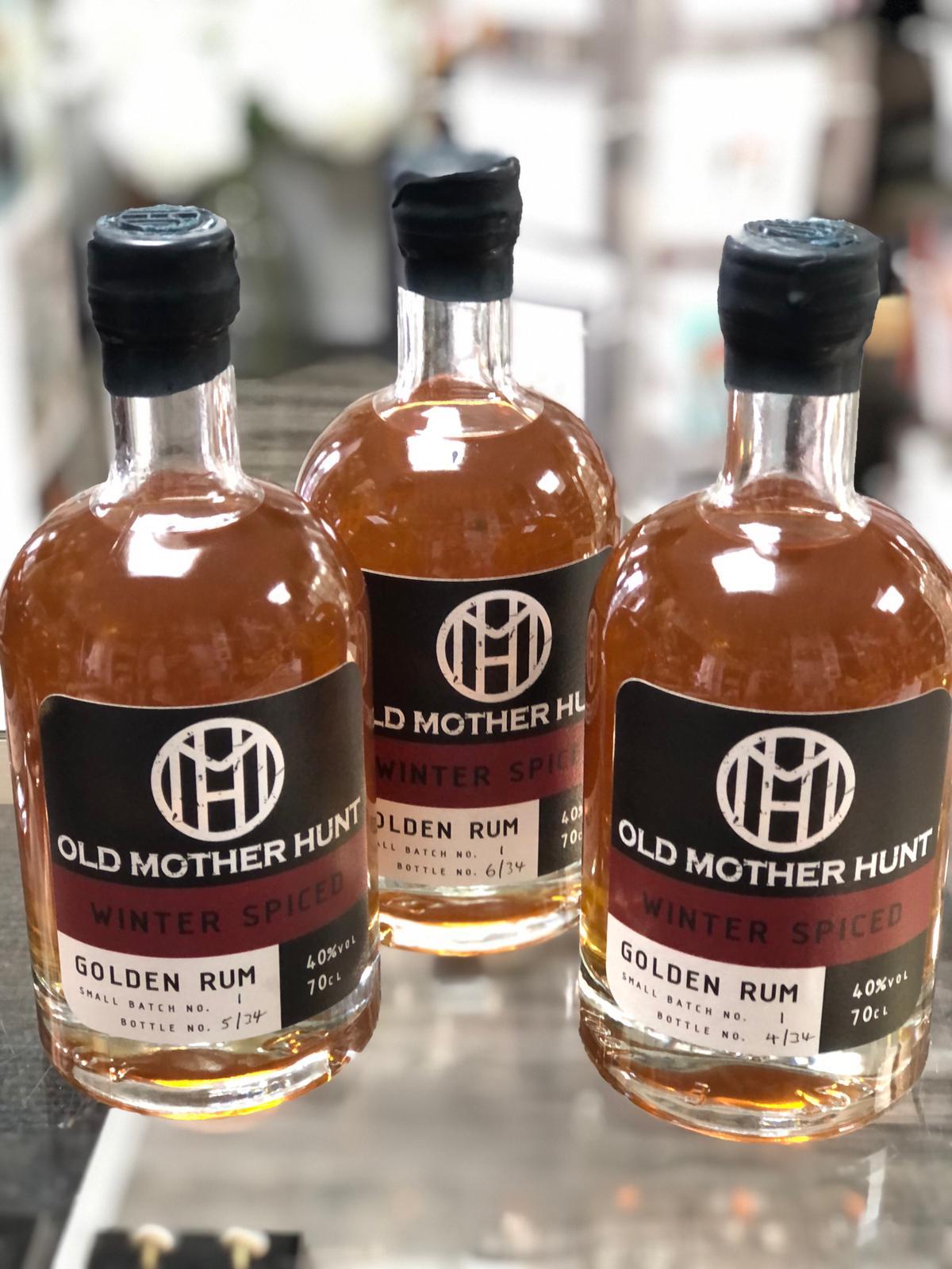 Old Mother Hunt - Winter Spiced Golden Rum, 70cl