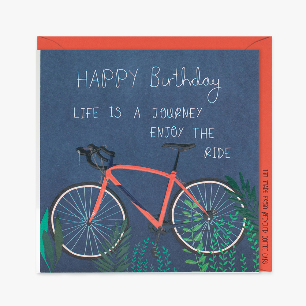 Belly Button Designs, Happy Birthday Bicycle