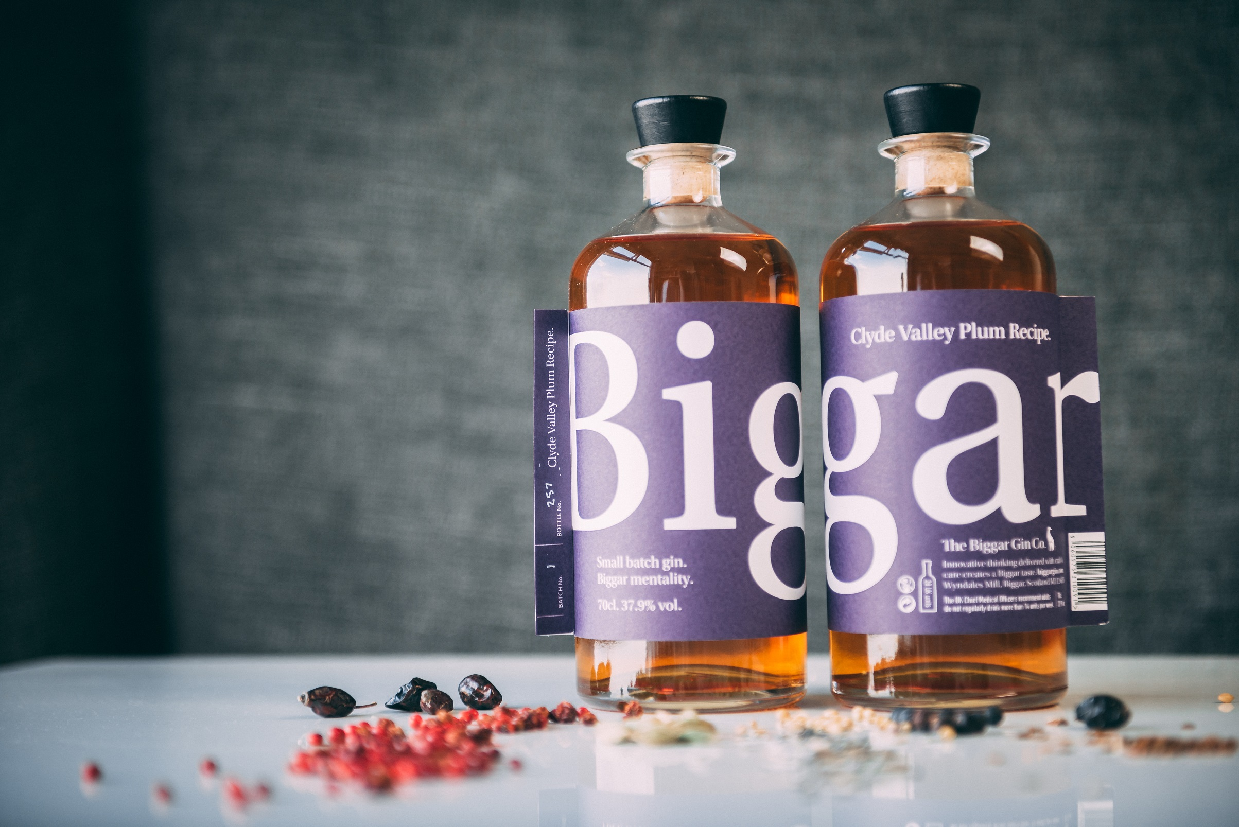 Biggar Clyde Valley Plum Gin