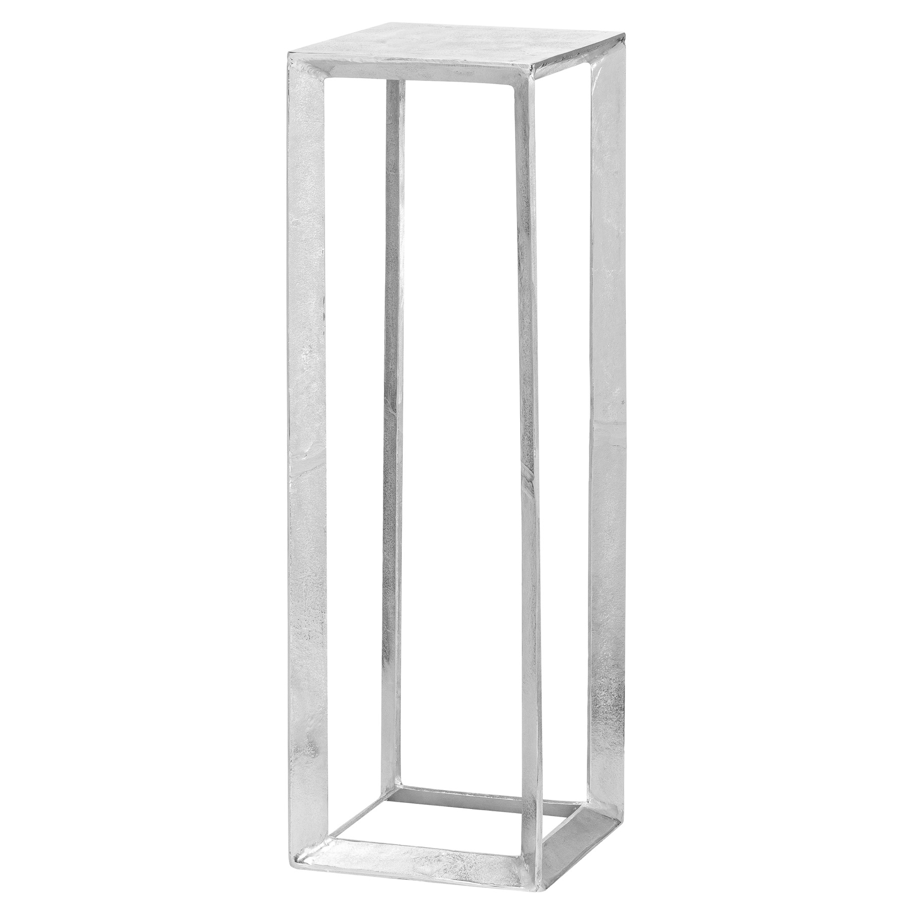 Farrah Collection Silver Plant Stand, Large