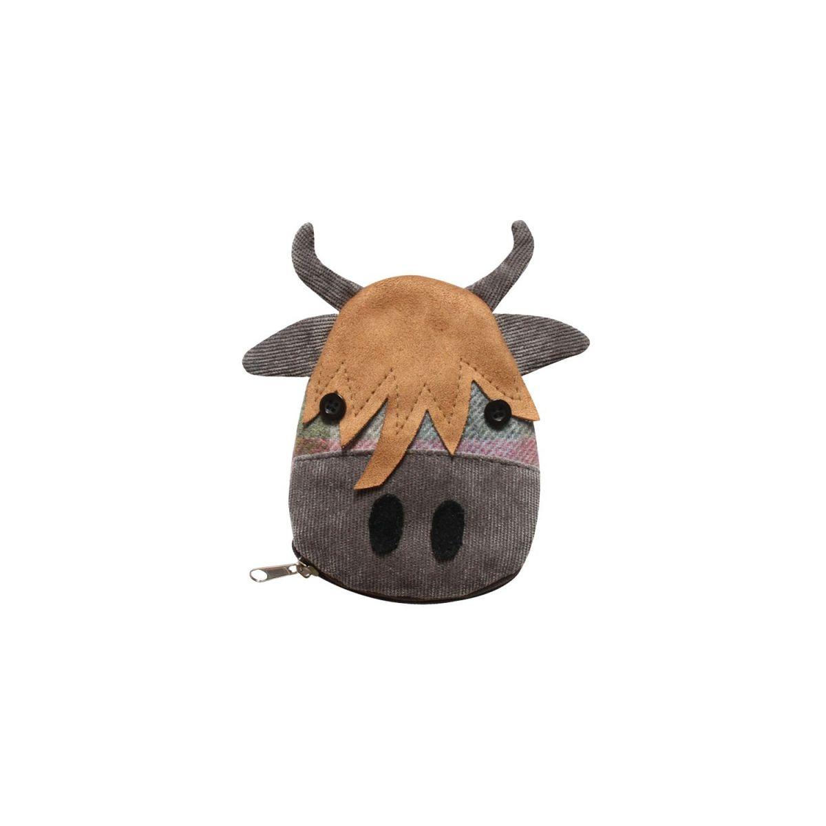Earth Squared Cow Purse