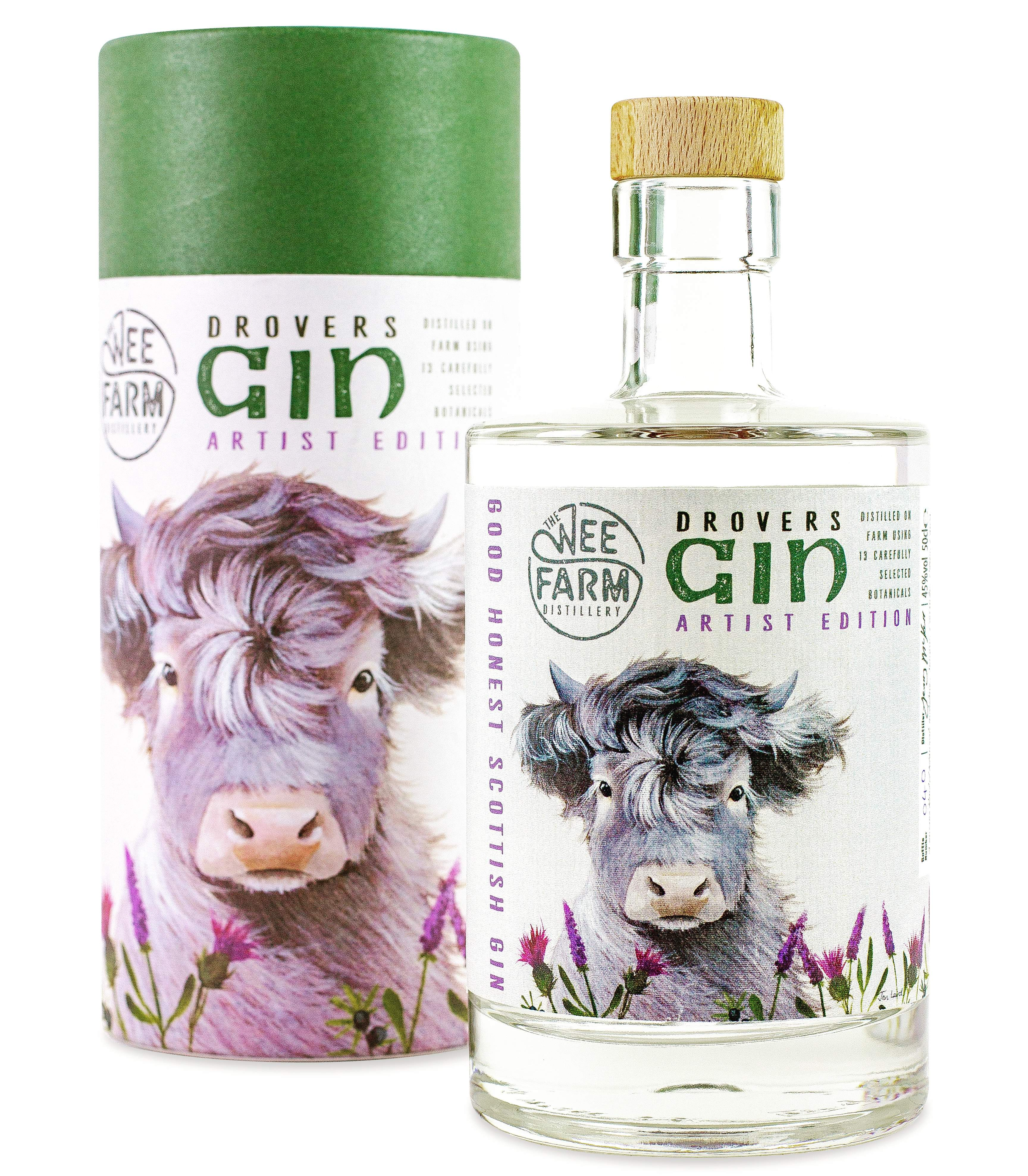 The Wee Farm Distillary, Drovers Gin
