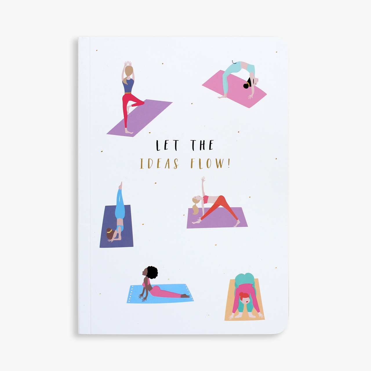 Belly Button Designs, Yoga Notebook