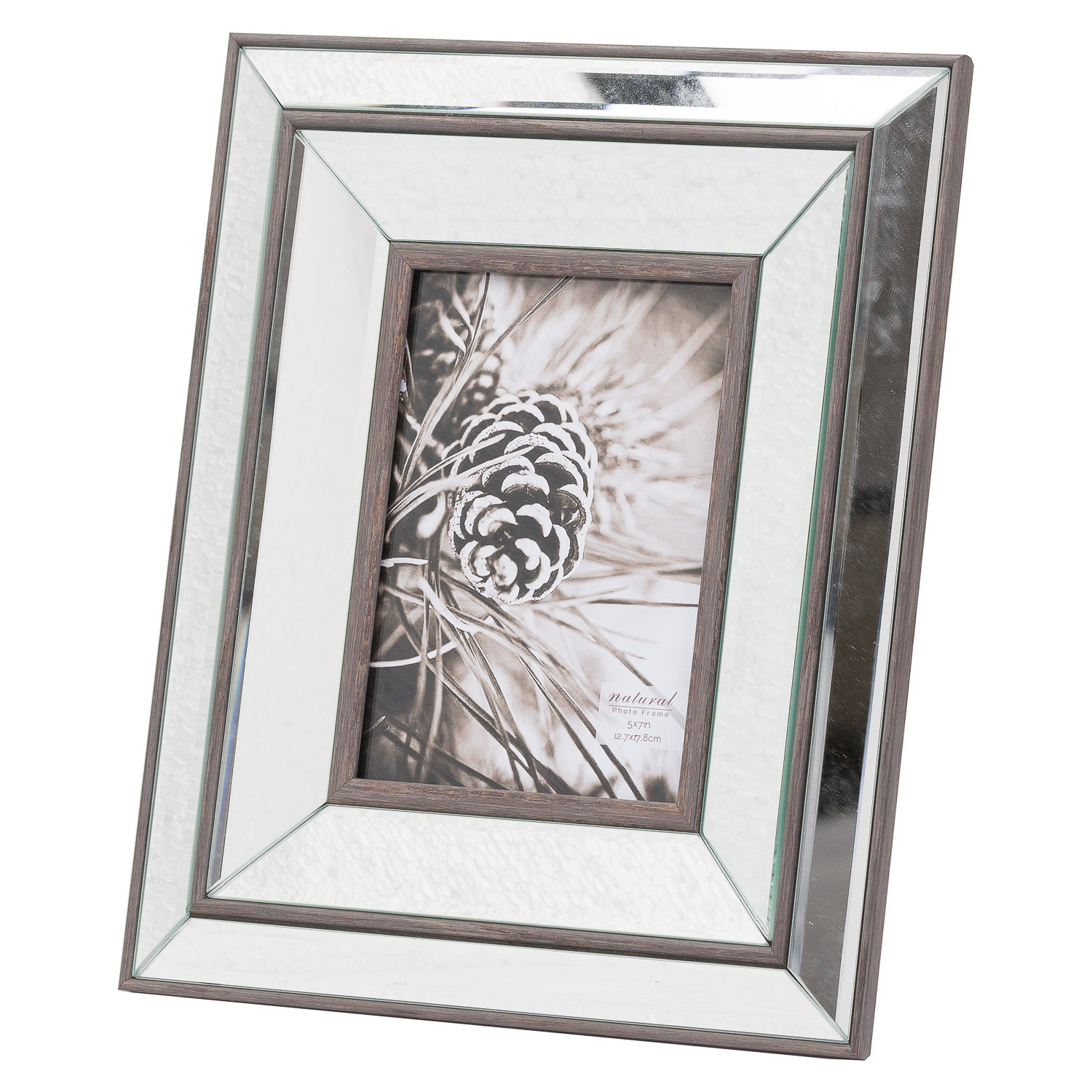 Tristan Mirror and Wood Frame