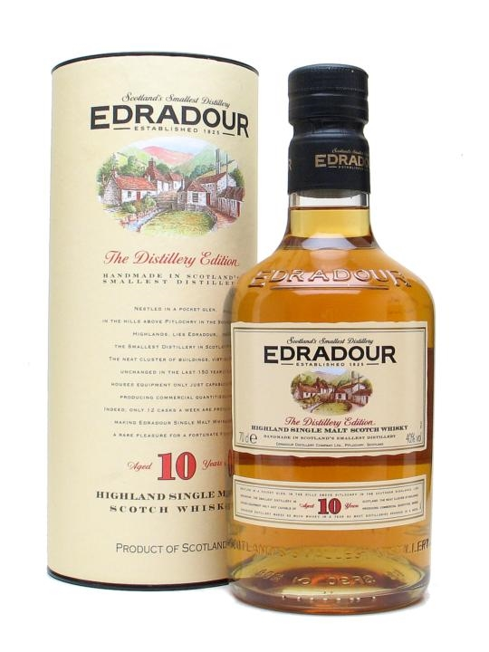 Edradour 10 Year Old, Highland Single Malt, The Distillers Edition