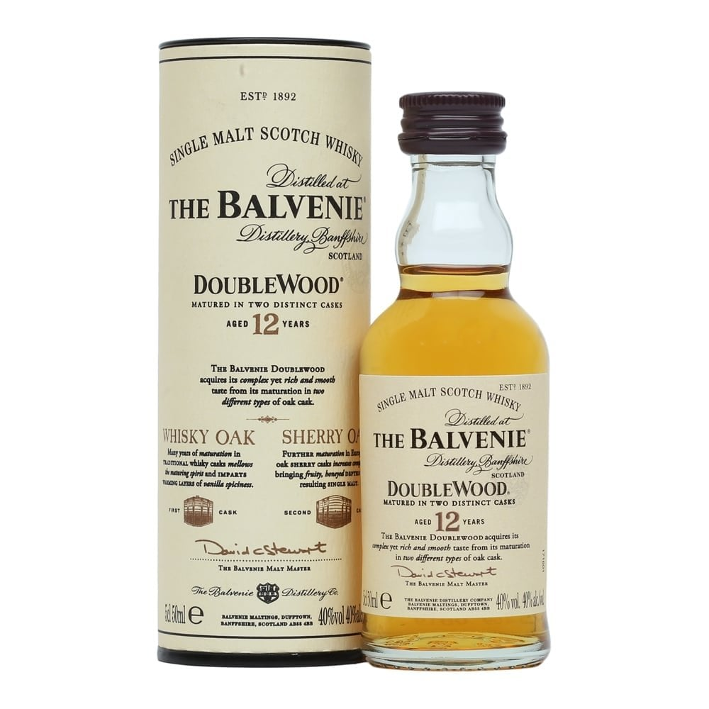 The Balvenie Double Wood - 12 Year Old Miniature