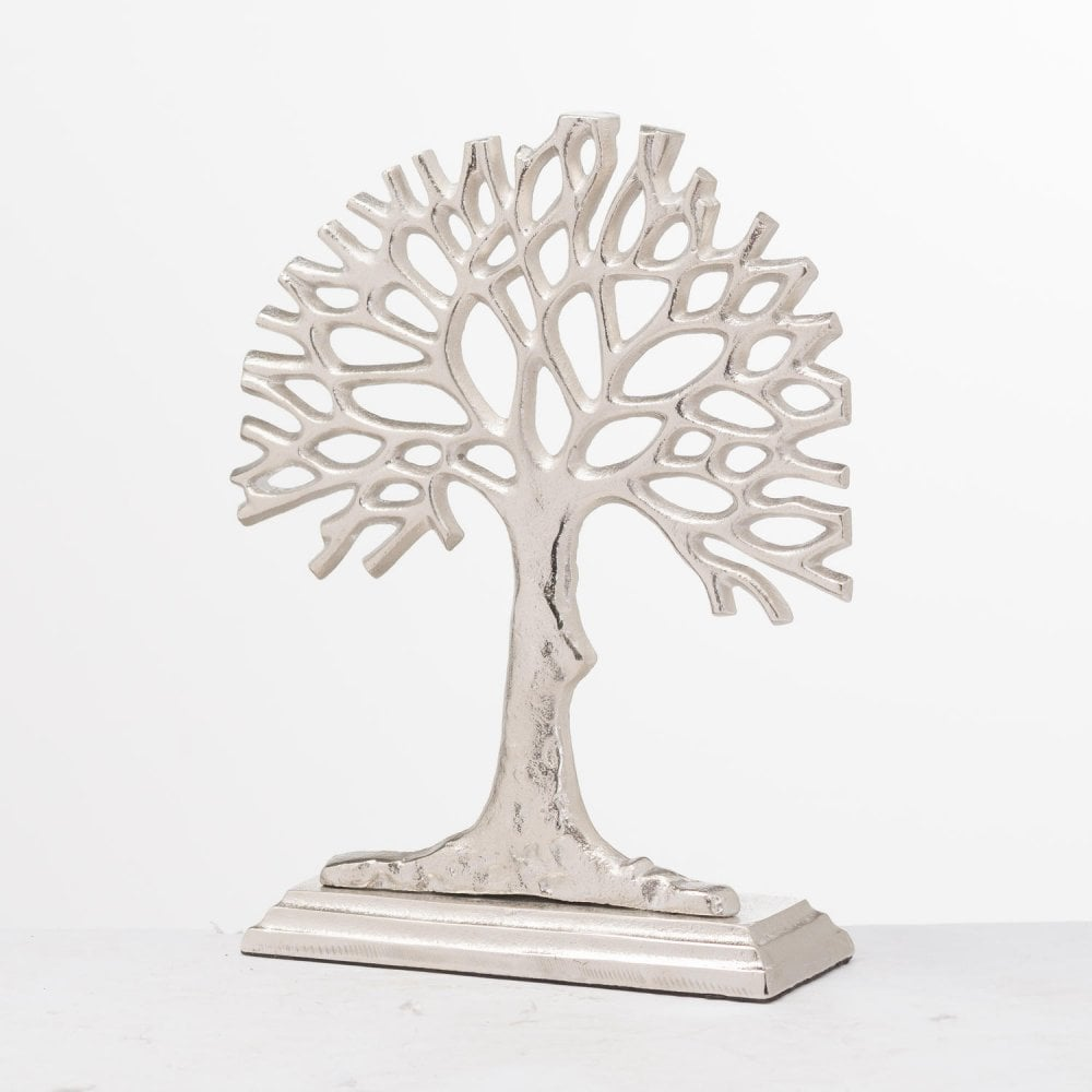 Hill Interiors Ohlson Silver Cast Sea Fan Ornament