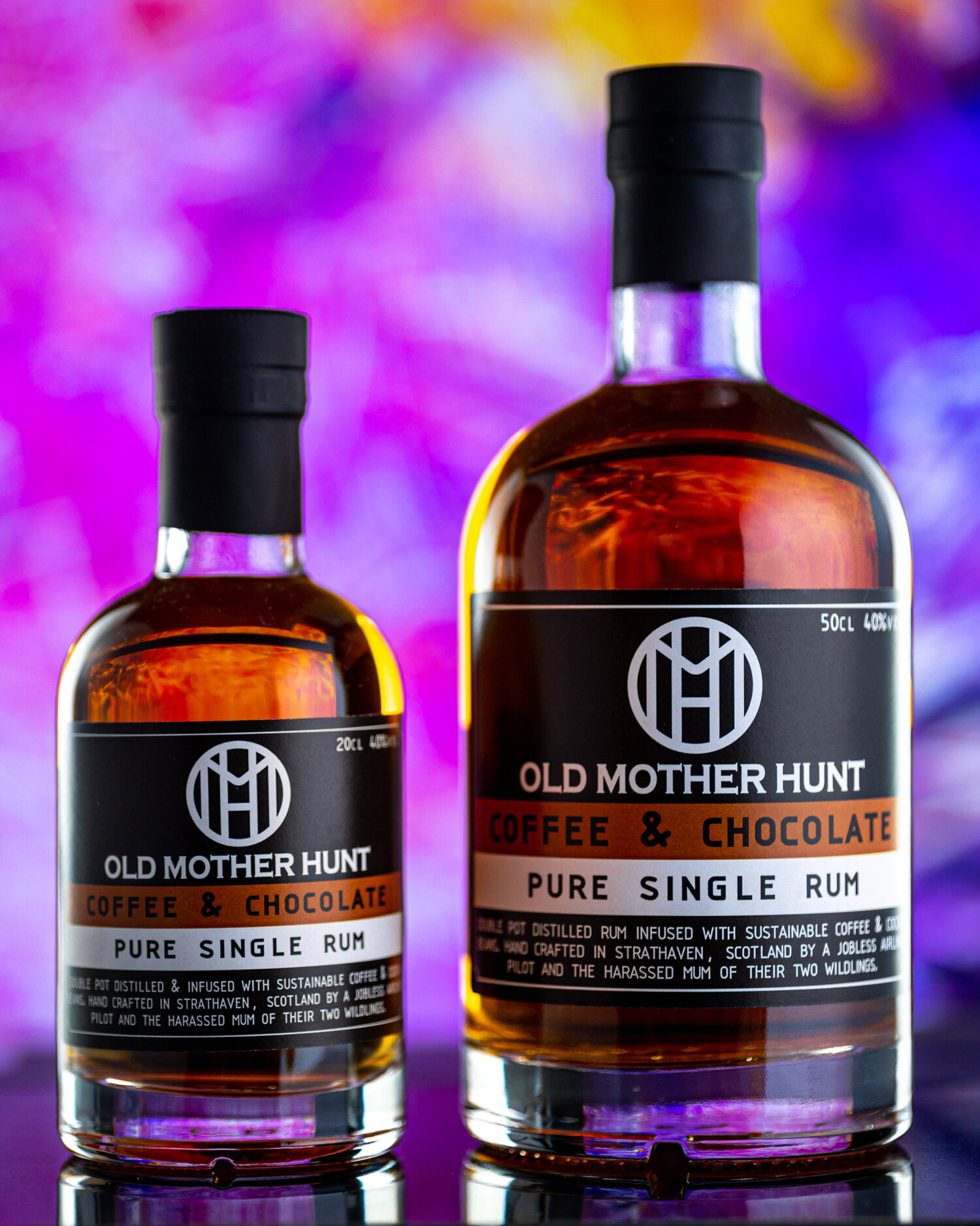 Old Mother Hunt - Coffee and Chocolate Rum