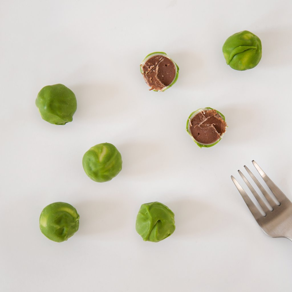 8 Pack Chocolate Brussels Sprouts