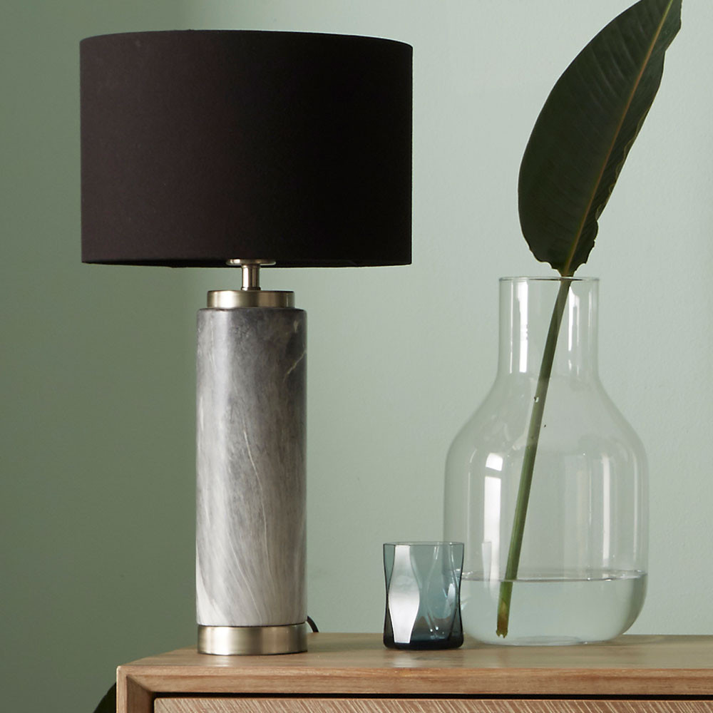 Carrara Tall Ceramic Table Lamp