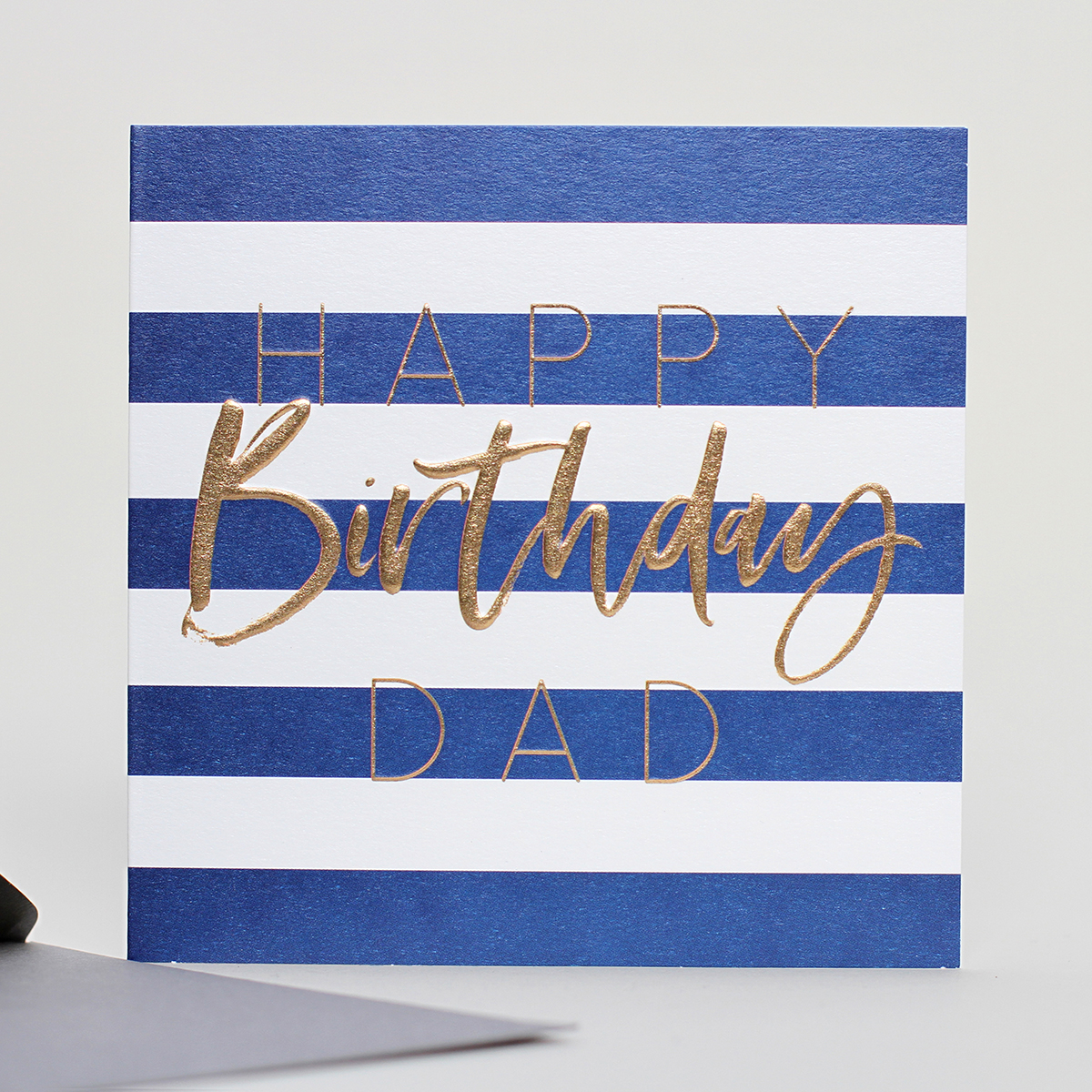 Belly Button Designs Birthday Dad Stripe