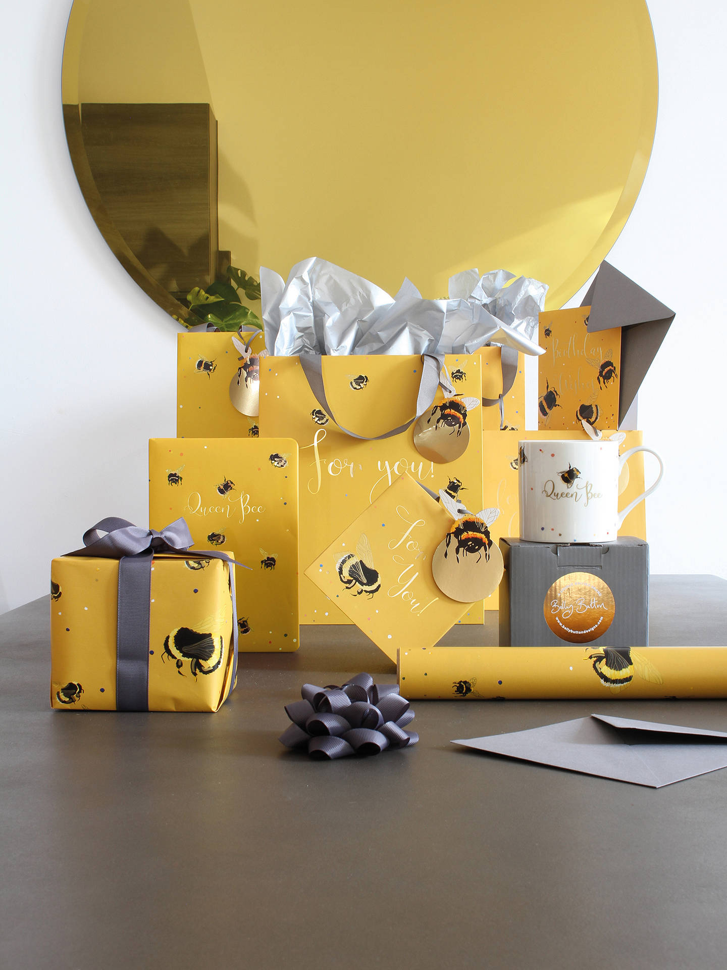 Belly Button Bubble, Bee Gift Bags