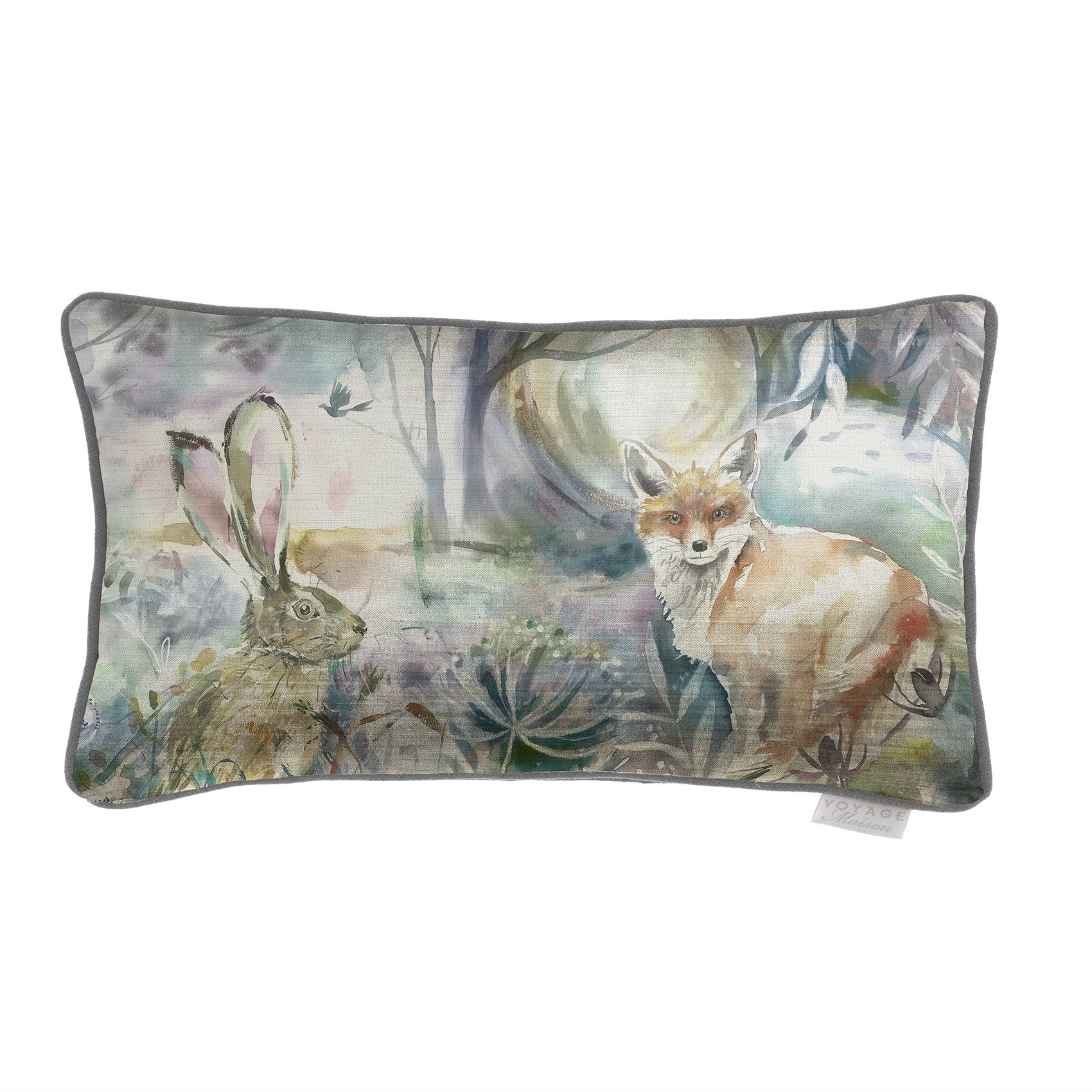 Voyage Fox and Hare Cushion