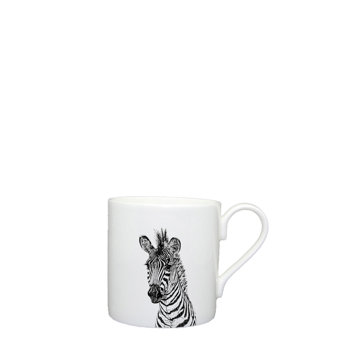 Little Weavers Arts, Zebra, Espresso Cup