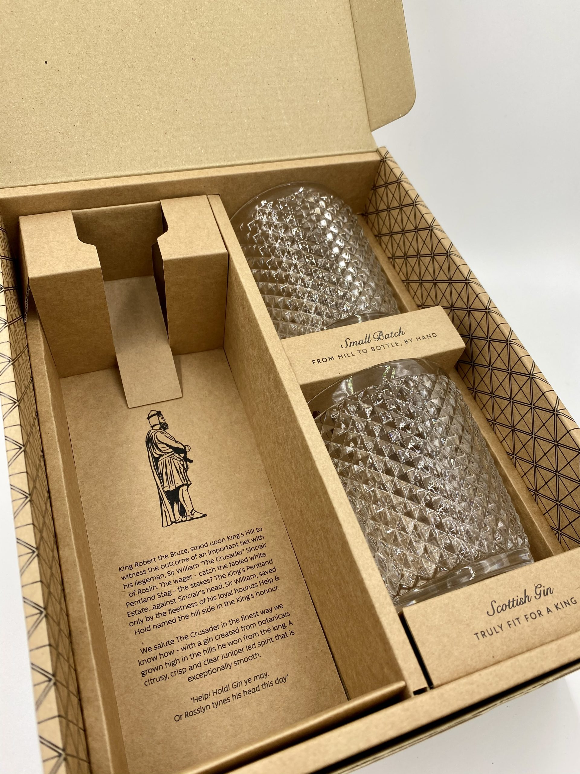 King's Hill Gin 70cl Gift Pack