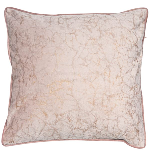 Malini Crackle Blush Cushion