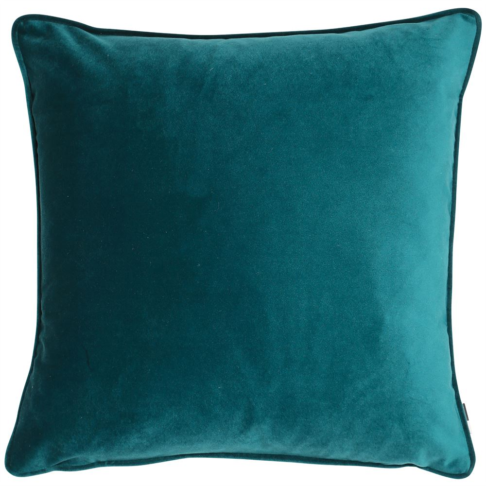 Malini Luxe Teal Cushion